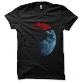 tee shirt pokeball noir