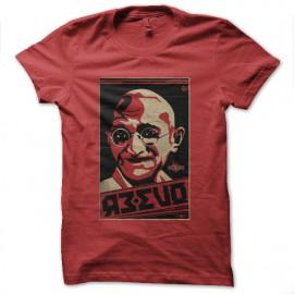 tee shirt gandhi russie rouge