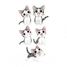 tee shirt chi le chat blanc