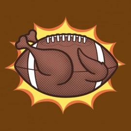 tee shirt american chicken ball marron