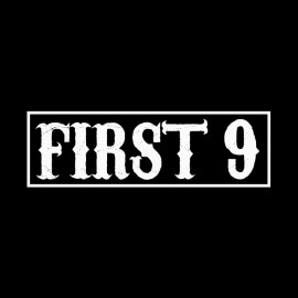 tee shirt first 9 sons of anarchy noir
