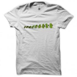 tee shirt android evolution blanc