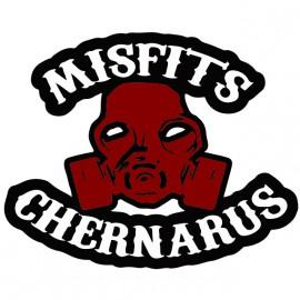 Tee Shirt Biker Arma Dayz Chernarus Misfits sons of anarchy Blanc