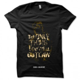tee shirt The only thing i do will is out law noir