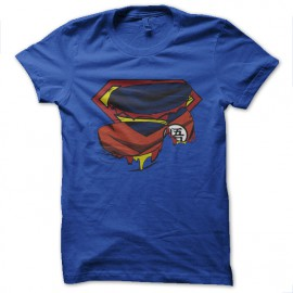 tee shirt Super Goku bleu