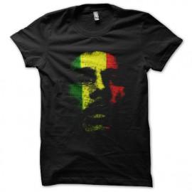 tee shirt bobmarley art noir