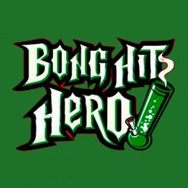 tee shirt bong hit hero vert