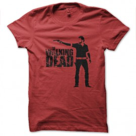 tee shirt the walking dead rouge