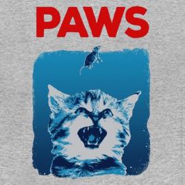 tee shirt paws gris