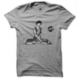 bruce lee dj shirt gris