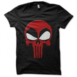 tee shirt Dead Punisher noir mixtes tous ages