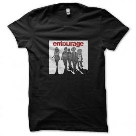 tee shirt entourage noir
