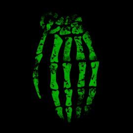 tee shirt Bomb design noir