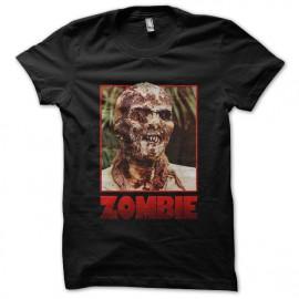tee shirt zombie noir