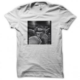 tee shirt yoda boxing blanc