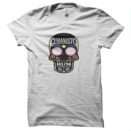 tee shirt cubanisto blanc