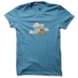 tee shirt cartoon breaking bad funny bleu ciel