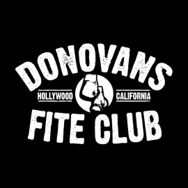 tee shirt ray donovans fite club noir
