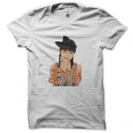 tee shirt makino maria blanc