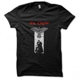 tee shirt the crow noir