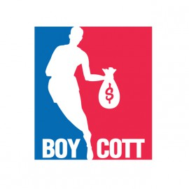 tee shirt boy cott blanc