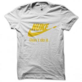 tee shirt Nuke blanc