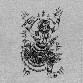 tee shirt magic tattoo gris