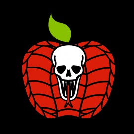 tee shirt apple cobba noir