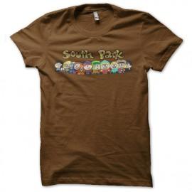 tee shirt south park marron