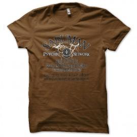 tee shirt saruman network marron