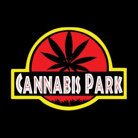 tee shirt cannabis park noir