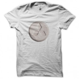 tee shirt taz mitsubishi blanc