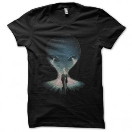 tee shirt x-files roswell noir