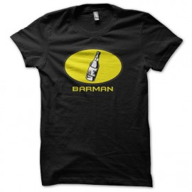 tee shirt barman parodie batman noir