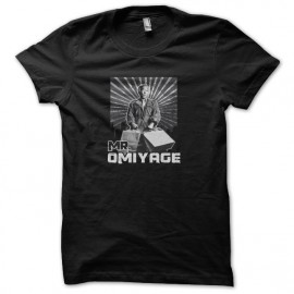 Karate kid tee shirt mr omiyage noir