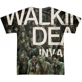 tee shirt walking dead invasion