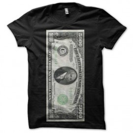 Tee shirt us dollar 5000 noir