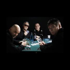 tee shirt the stranglers poker noir