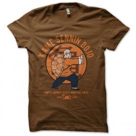 tee shirt kame sennin dojo tortue genial mixtes tous ages