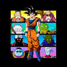 tee shirt dragon ball aventure