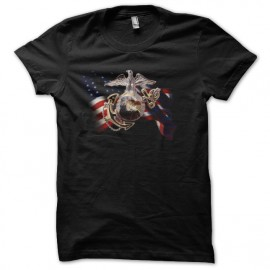 tee shirt us. marines corp noir