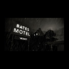 tee shirt bates motel vacancy noir