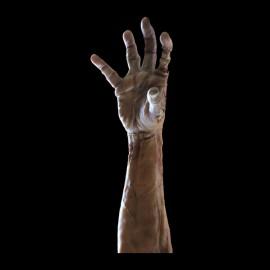 tee shirt zombi hand noir