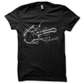 tee shirt gibson guitare