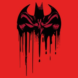 tee shirt batman ensanglante