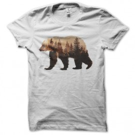 tee shirt ours montagne