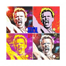 tee shirt billy idol lolly pops