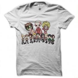 tee shirt attack on titan cartoon