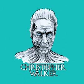 tee shirt christopher walken marcheur blanc