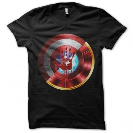 Tee shirt Civil War noir